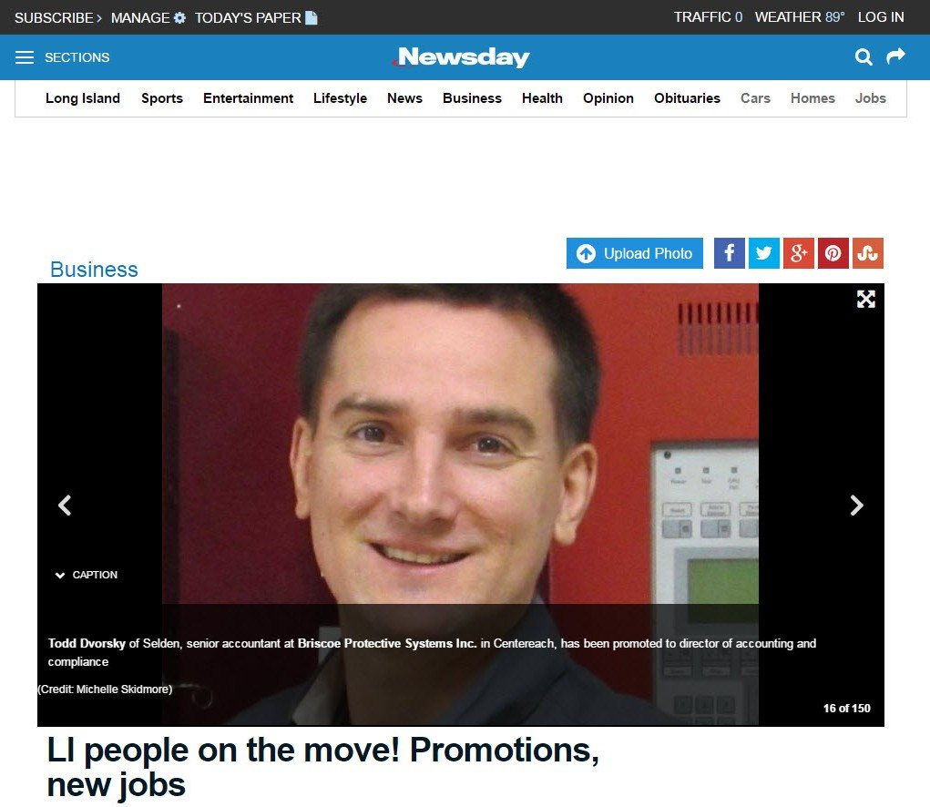 Newsday On the move